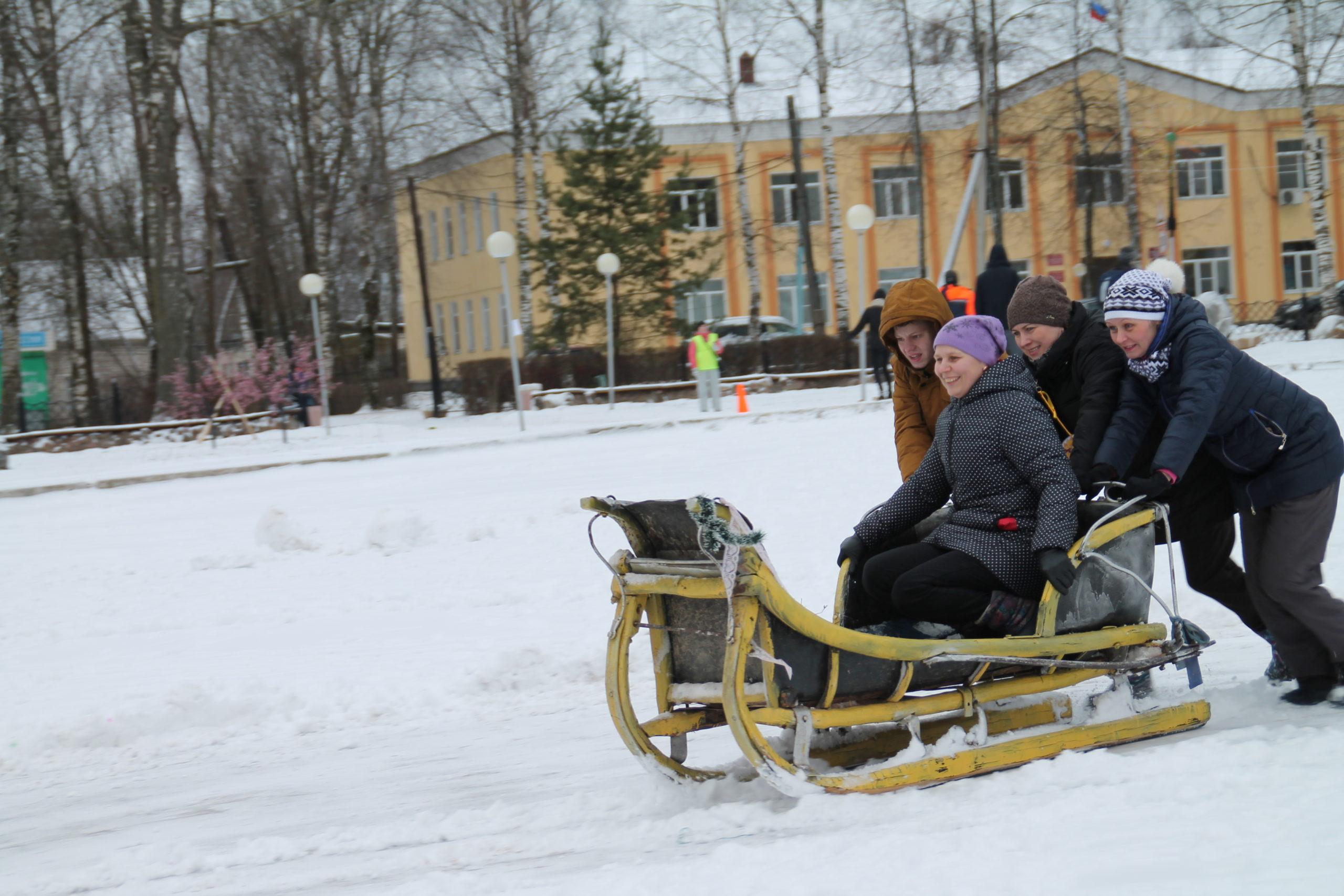 Зимняя пчелиада в Сандовской районе принимала гостей