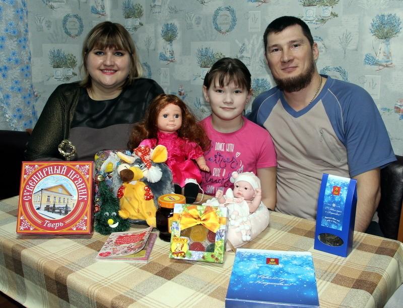 Благодаря «Елке желаний» исполнилась мечта Маши Кочур из Старицкого района