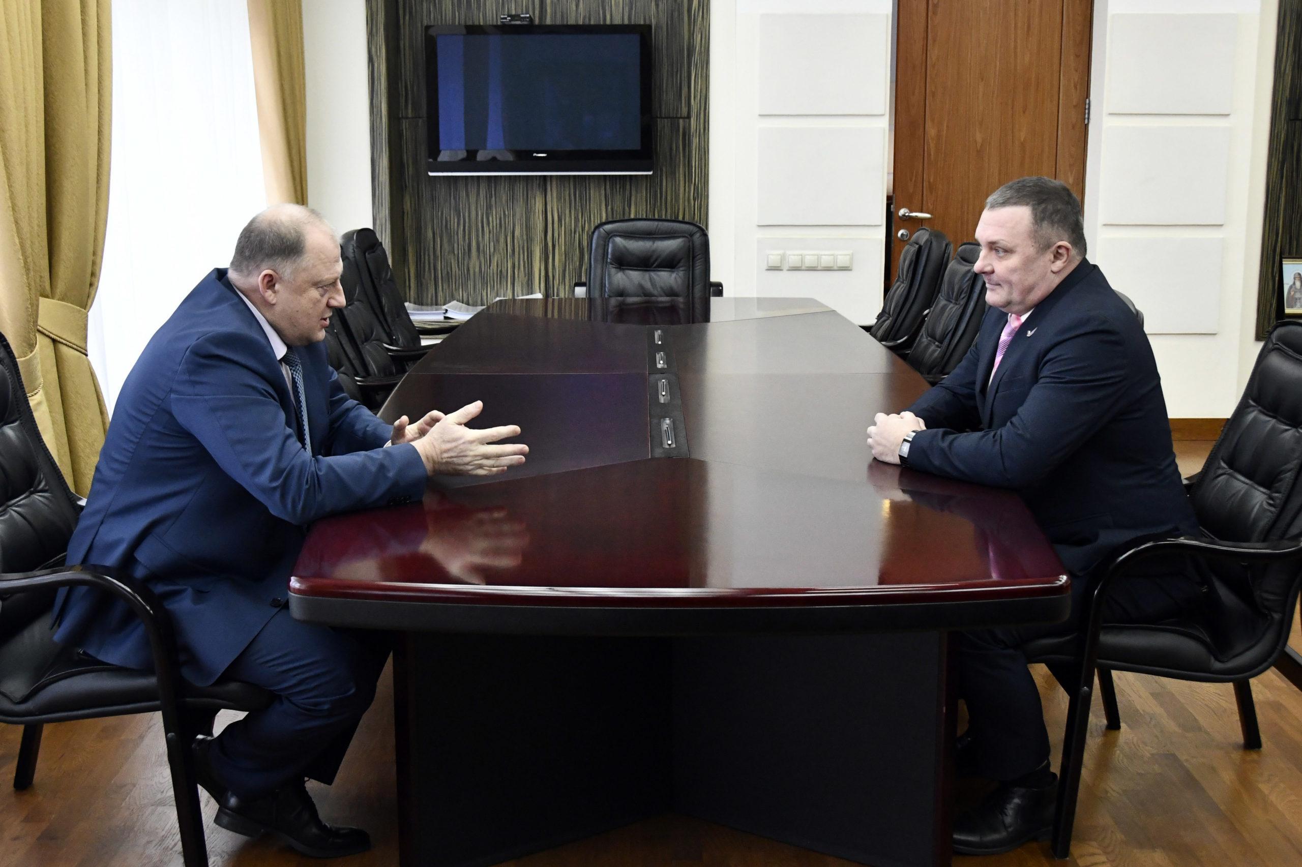 Сергей Голубев встретился с главой регионального исполкома ОНФ в Тверской области