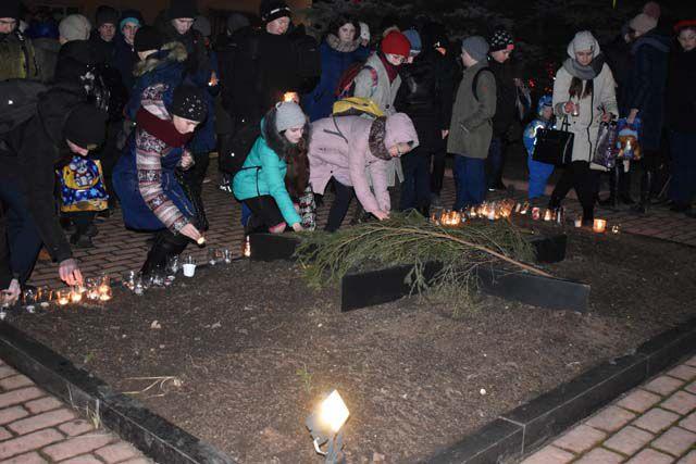 В Западной Двине прошла акция «Свеча памяти»