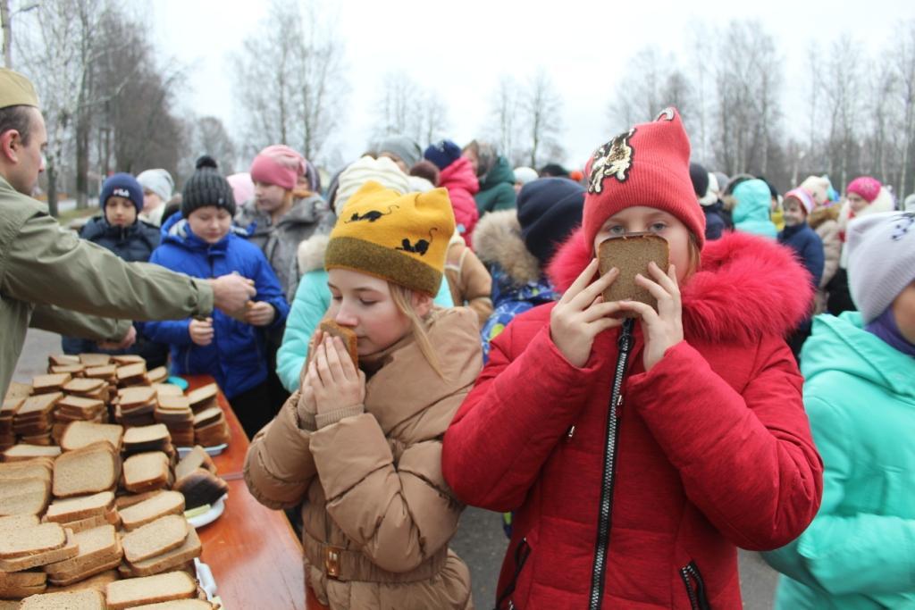 Жарковский район присоединился ко всероссийской акции «Блокадный хлеб»