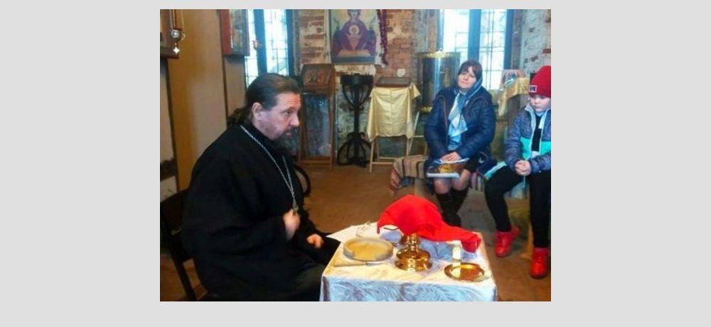 Степуринский храм принимал юных гостей