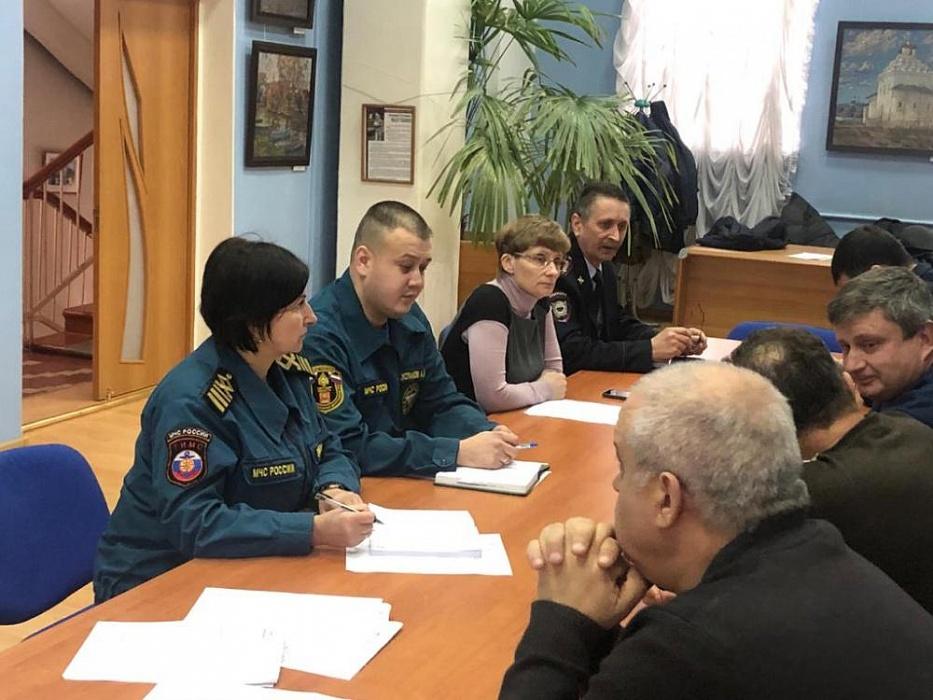 В Калязине обсудили безопасность Крещенских купаний