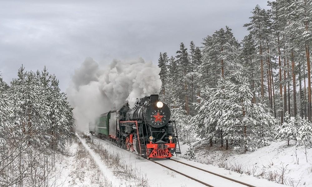 В новогодние праздники в Тверской области можно прокатиться на ретропоезде