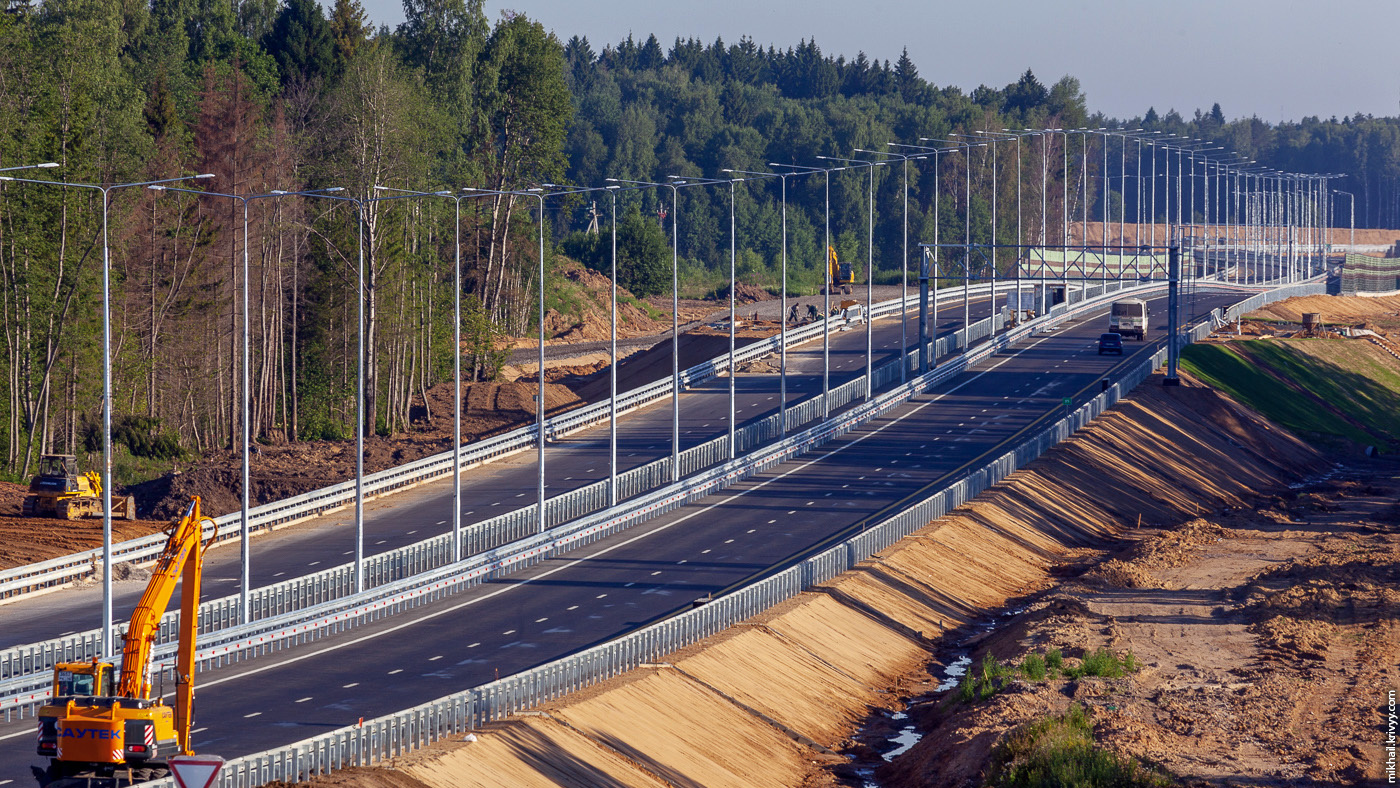 Весной  2020 панируется  повысить скоростной режим  на трассе М11 в Тверской области