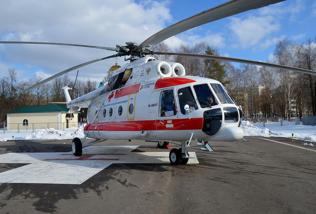 В начале 2020 года санитарная авиация Тверской области вылетала в Кимрский и Калязинский районы