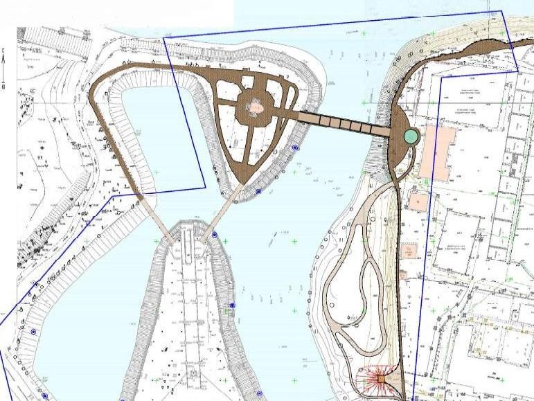 Остров Памяти и стадион «Химик» в Твери свяжет новый пешеходный мост