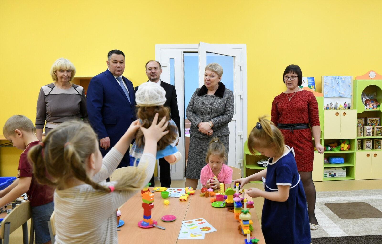 Игорь Руденя: с открытием школ и детских садов в муниципалитетах появляется молодежь, создаются рабочие места