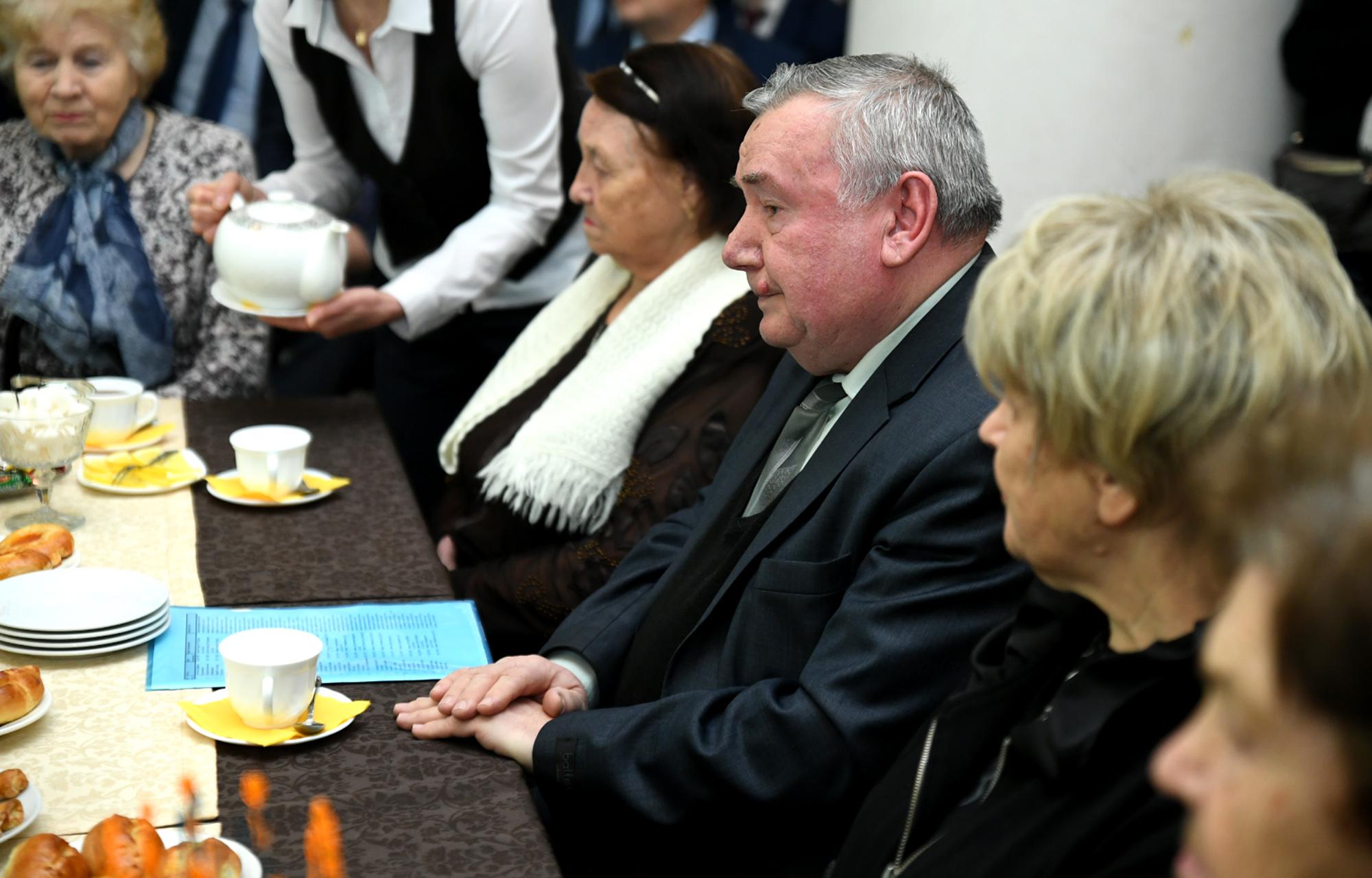 Ветеранам города Кимры вручили юбилейные медали