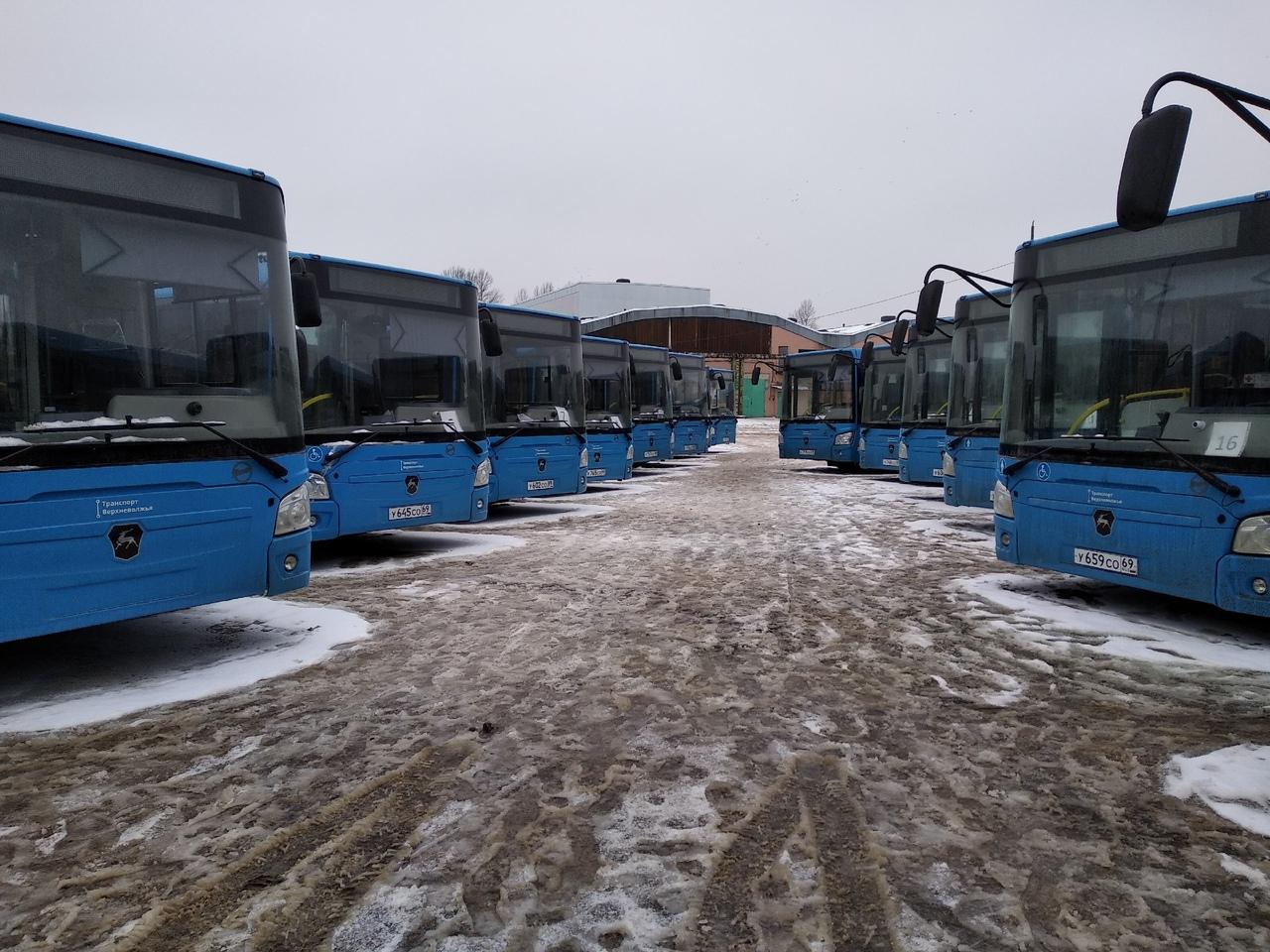 В Тверь прибыла крупная партия новых автобусов