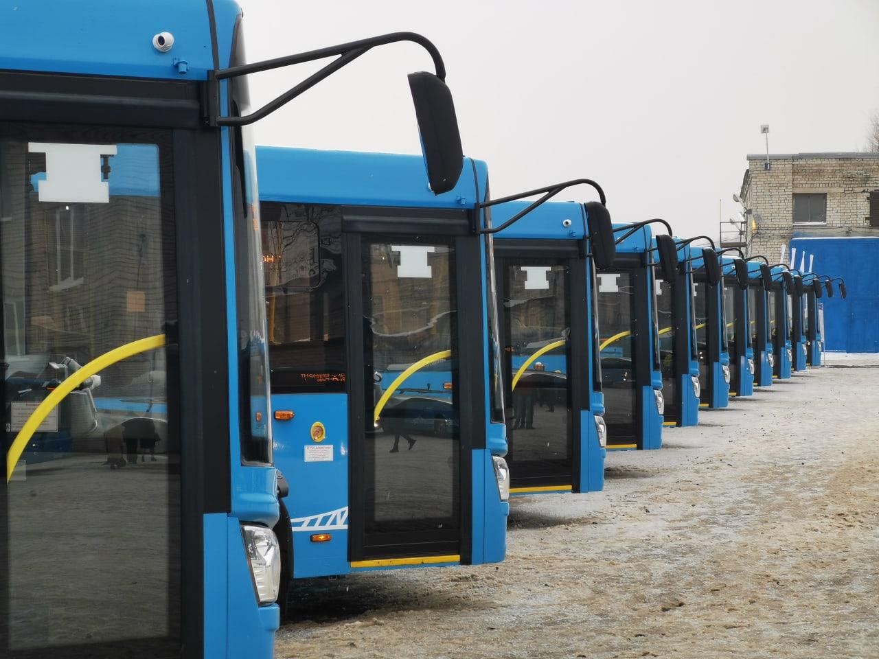 Новые автобусы уже в Твери и готовы выйти на линию