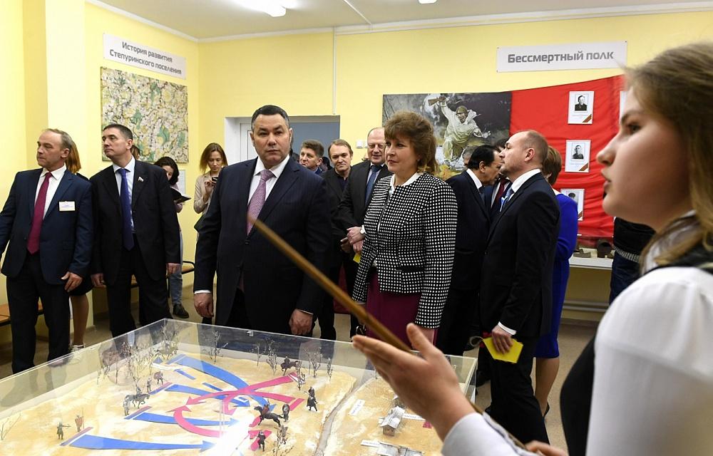 Ирина Филимонова: Улучшились условия – повысилась успеваемость