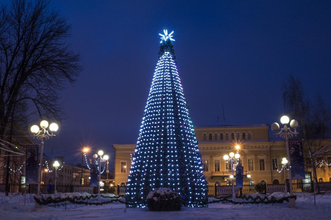 В новогодние каникулы в тверском горсаду проходят развлекательные мероприятия