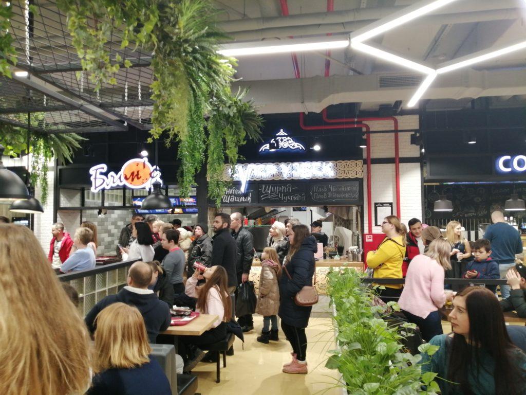 В Твери открылась гастрономическая Арт-площадка Food Base