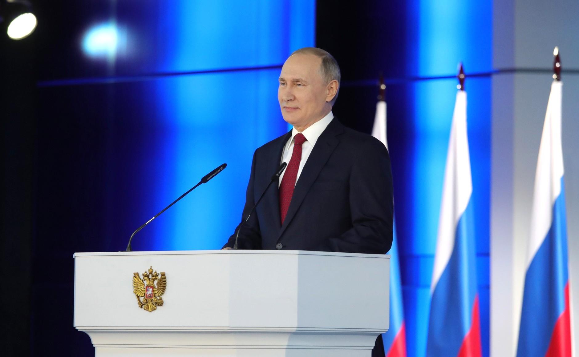 Главные тезисы послания Владимира Путина к Федеральному Собранию