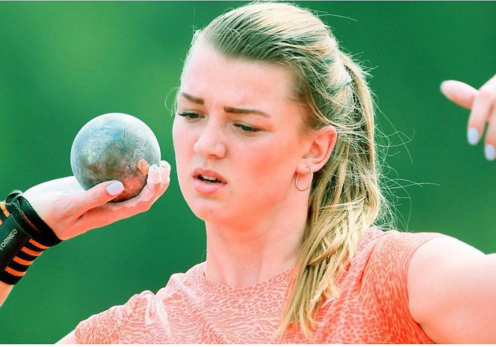 Тверская толкательница ядра Алена Гордеева победила на турнире «Русская зима»