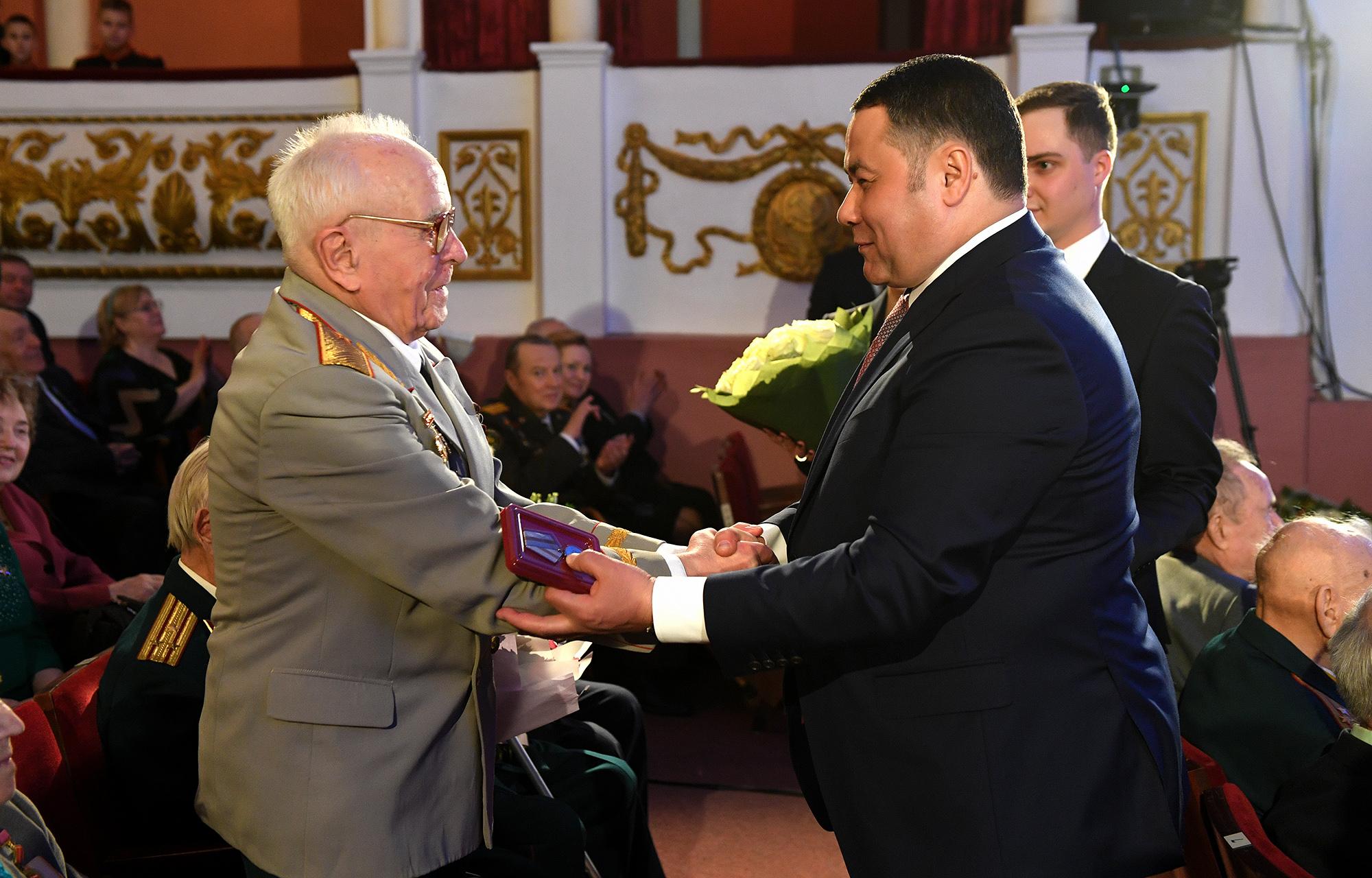 Тверь помнит: Фоторепортаж с вручения медалей «75 лет Победы в Великой Отечественной войне»
