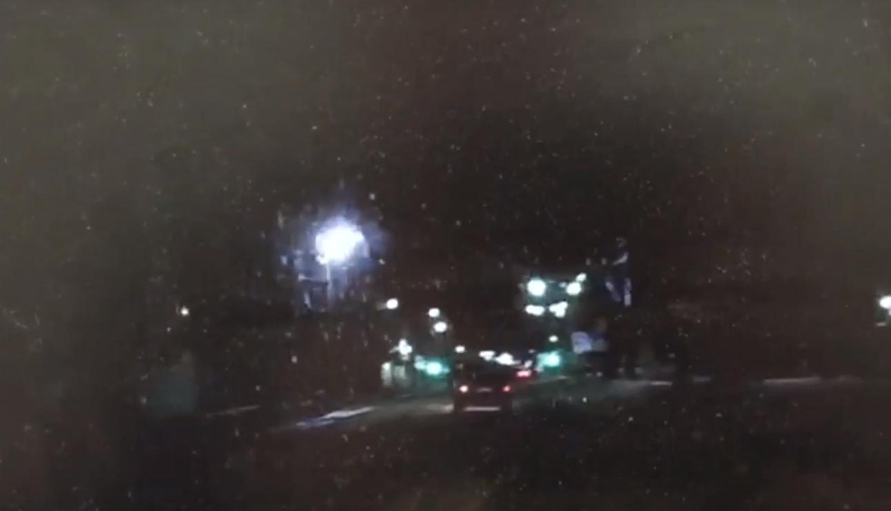 Появилось видео погони гаишников за пьяной компанией в Тверской области