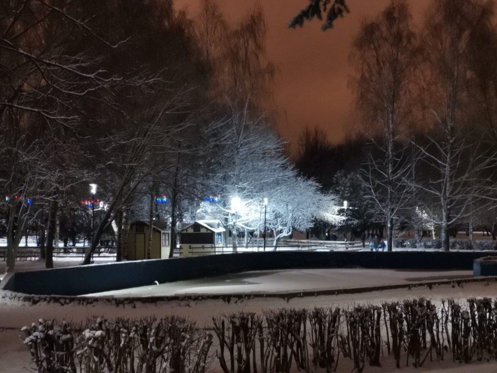 После долгого молчания в тверском парке Победы заработает фонтан