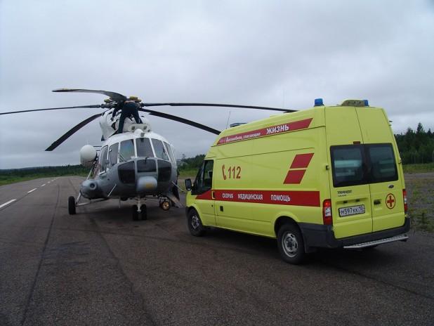 Женщину из Тверской области перевозили вертолетом в ОКБ