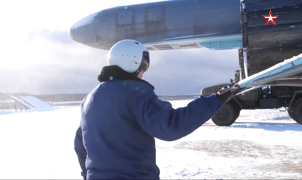 Летчики тренировались в уничтожении наземных целей в Тверской области