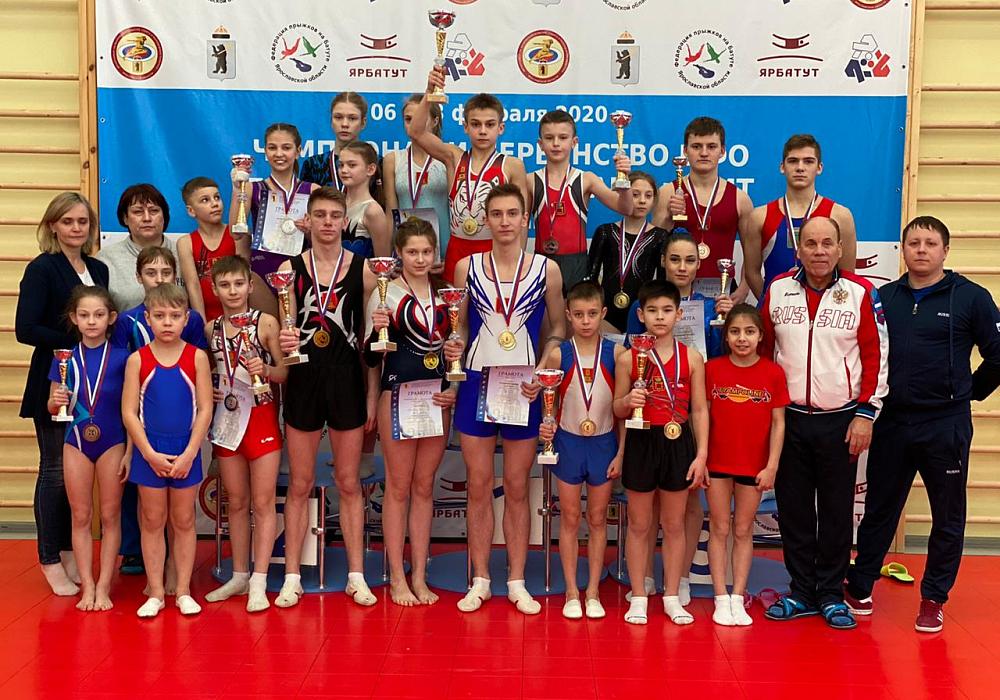 Тверские батутисты стали победителями и призерами чемпионата и первенства ЦФО