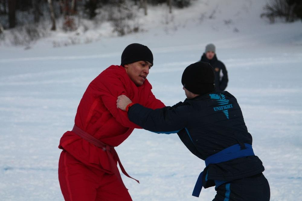 В Тверской области проходит Чемпионат России по зимнему универсальному бою