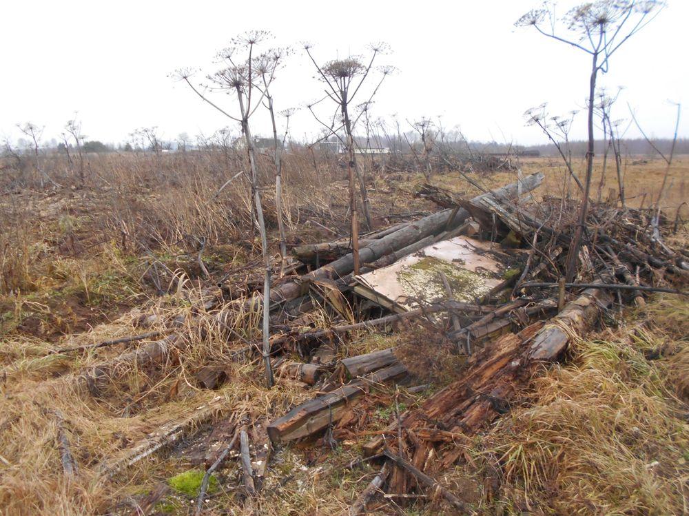 На землях сельхозназначения в Конаковском районе обнаружены две свалки