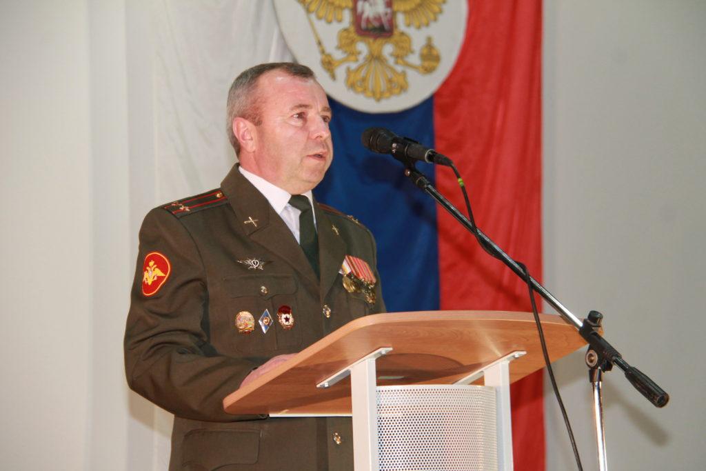 В Нелидово поздравили защитников Отечества