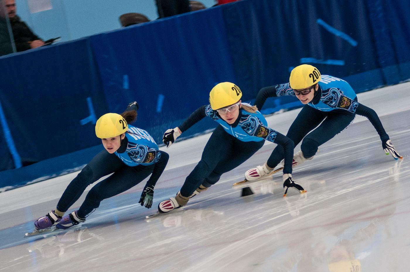 Тверская область проводит всероссийские соревнования  по шорт-треку