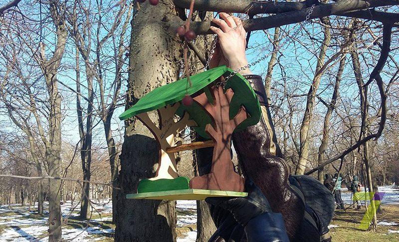 В Твери проходит общероссийская акция «Покормите птиц!»