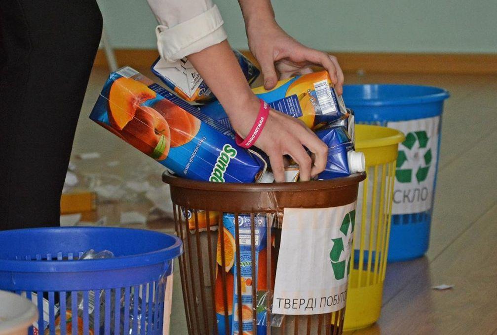 Тверских школьников учат правильно сортировать мусор