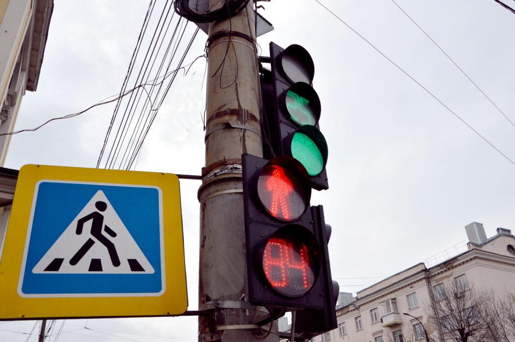 В центре Твери изменился режим работы двух светофоров