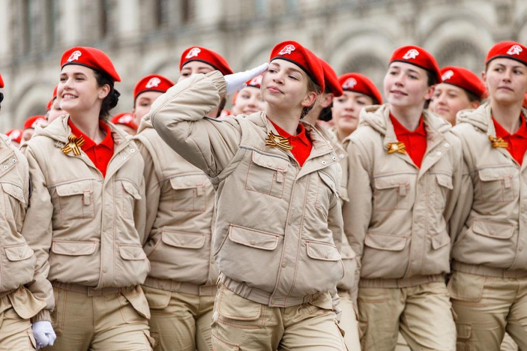 Более 3000 школьников вступили в ряды «Юнармии» в Тверской области