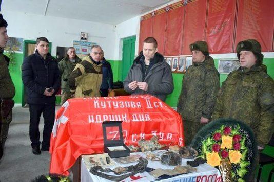 Перезахоронены останки лётчика, сбитого во время войны в Тверской области