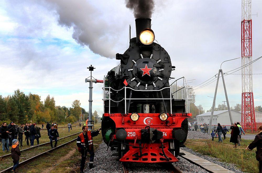 Ретро-поезд прокатит жителей Твери
