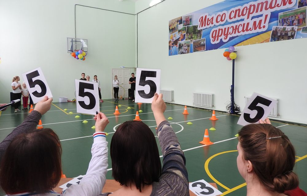 В Городской основной школе Калязина прошли спортивные соревнования