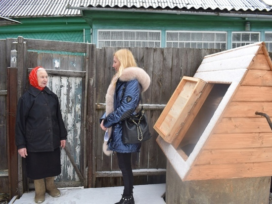 В Тверской области ветерану труда отремонтировали колодец