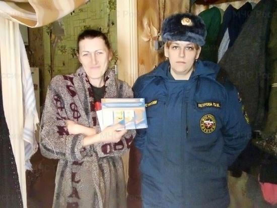 В Тверской области сотрудники МЧС навестили неблагополучные семьи