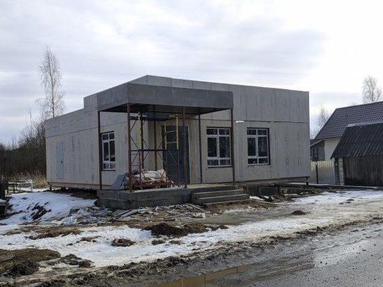 В Тверской области завершается строительство модульного здания МФЦ