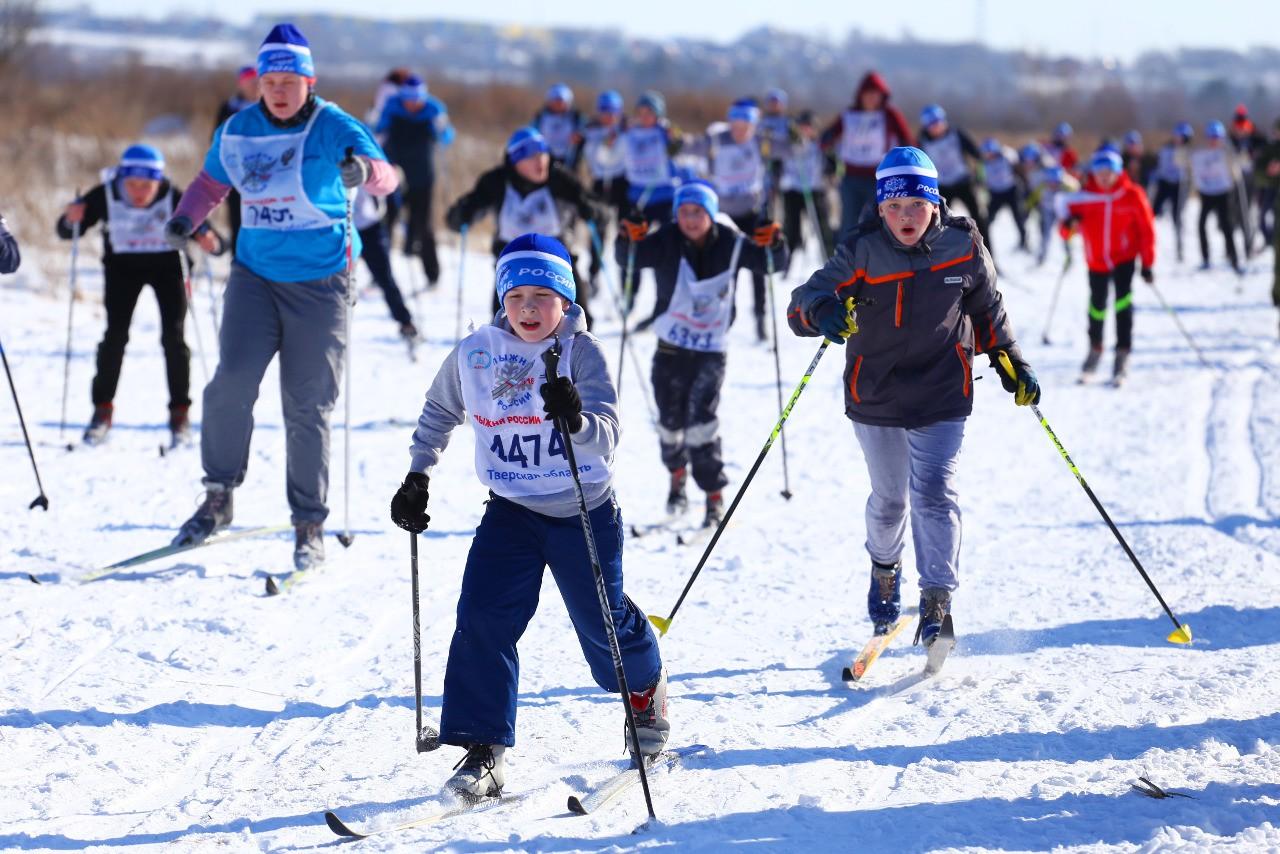 В последний день февраля в Тверской области пройдет «Лыжня России-2020»