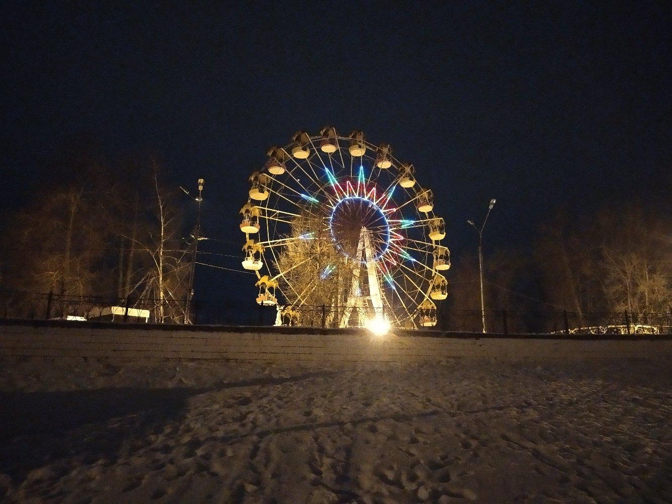 Атмосферные фото ночной Твери