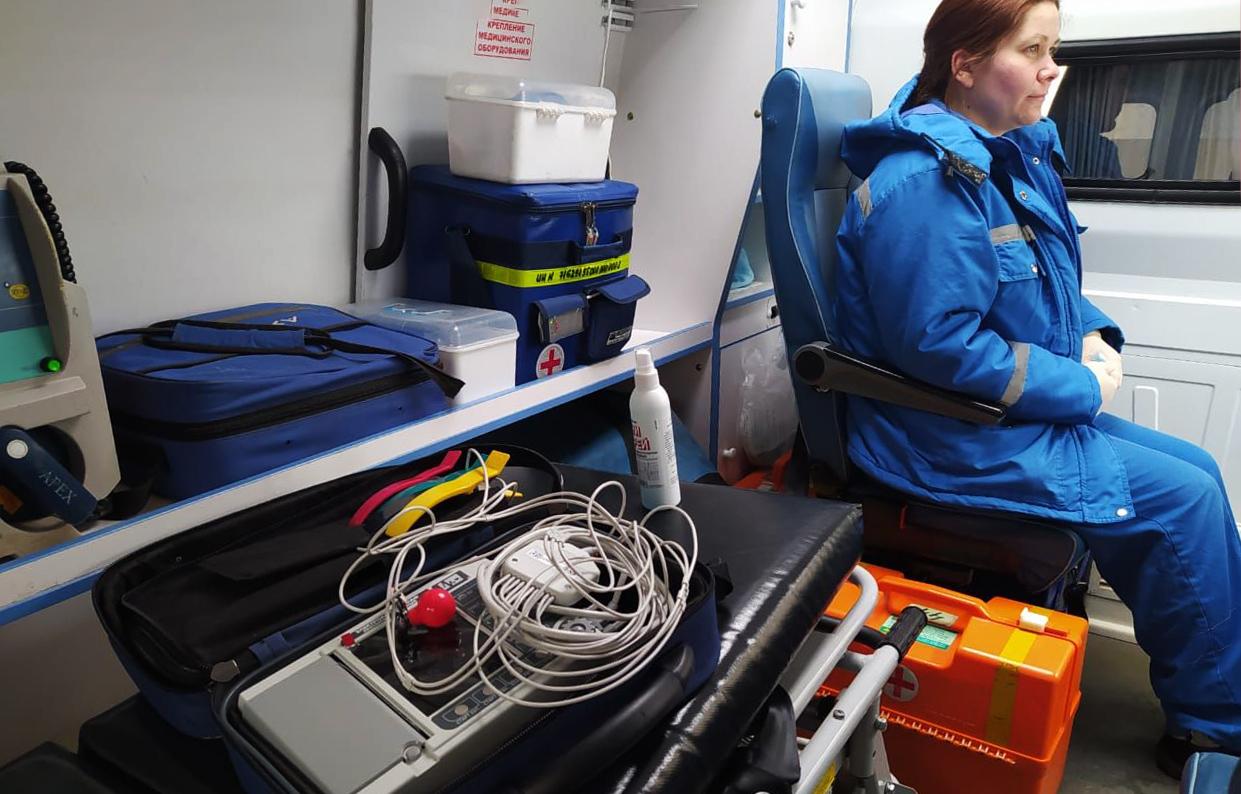 Для Тверской станции скорой медицинской помощи закуплено 57 новых электрокардиографов