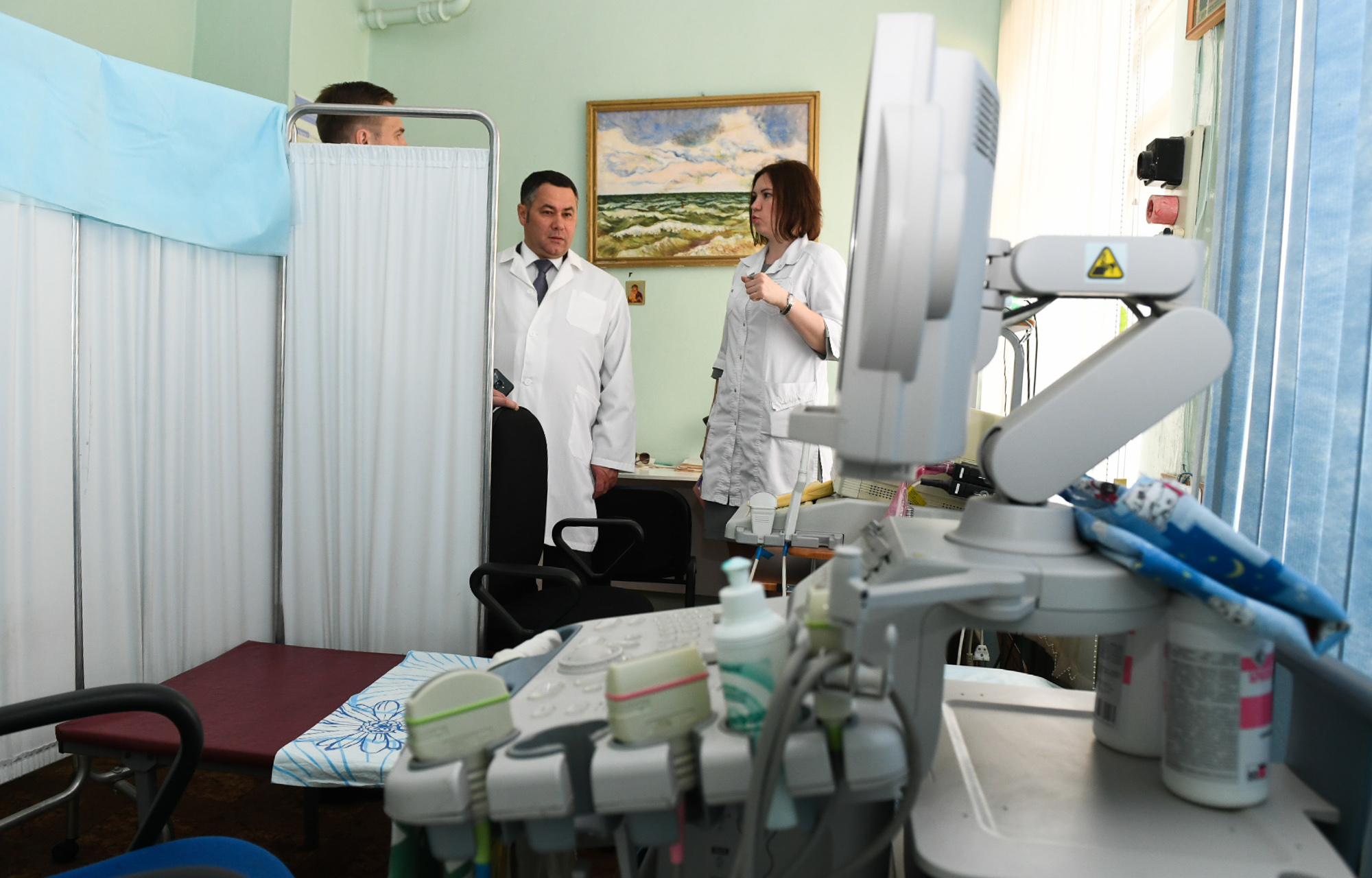В Тверской области ЦРБ предоставило места работы для будущих выпускников