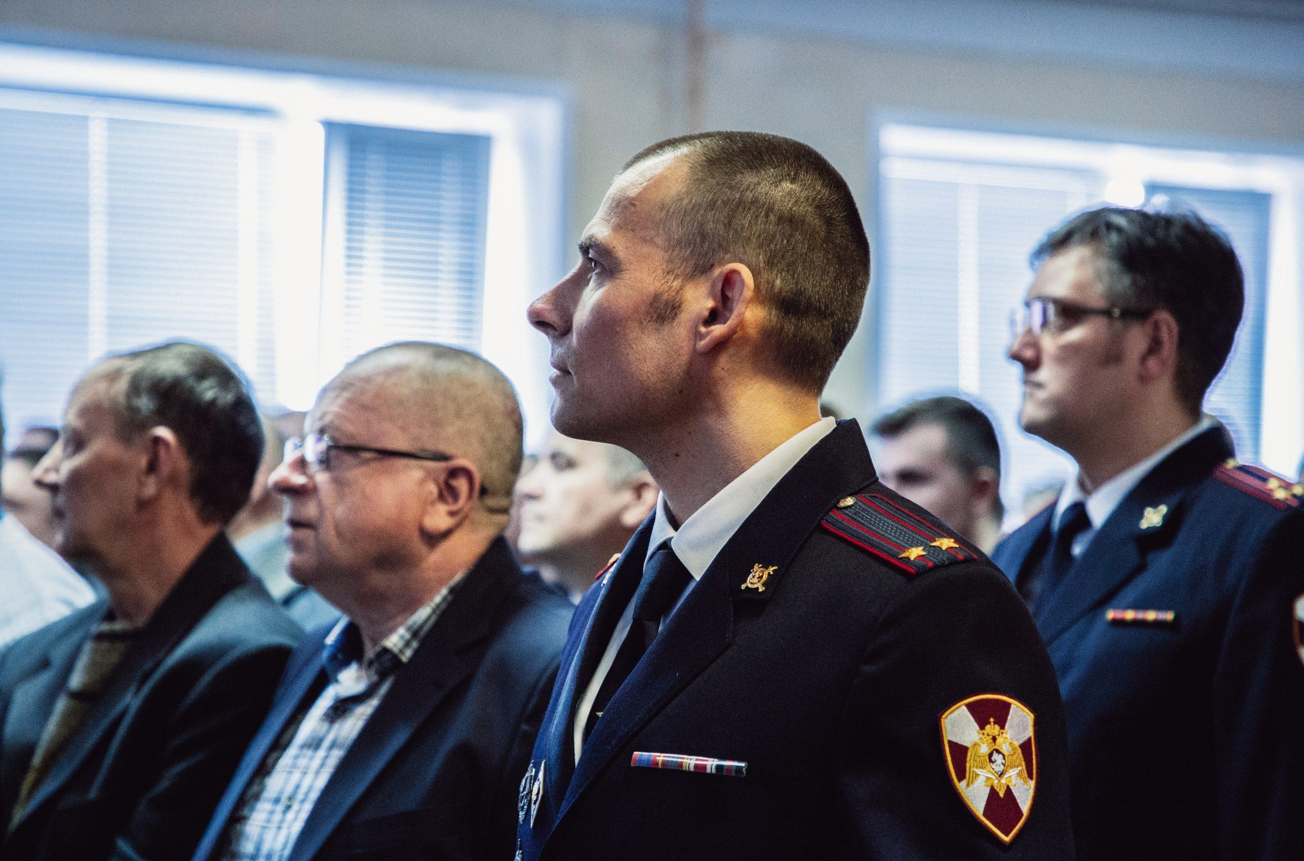 В Твери отпраздновали годовщину со дня образования батальона полиции вневедомственной охраны города