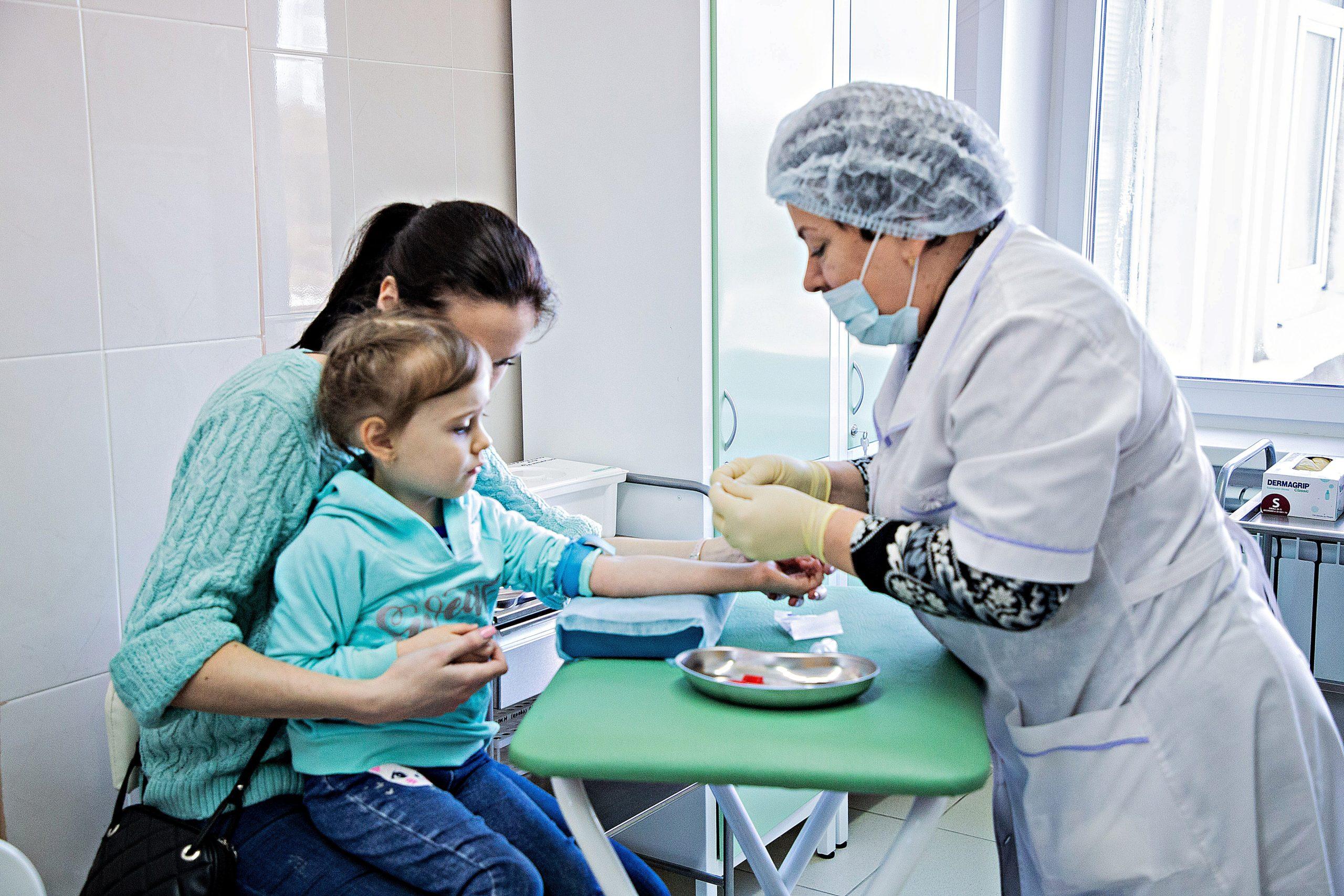 Маленькие пациенты пришли на прием  в тверскую больницу №3