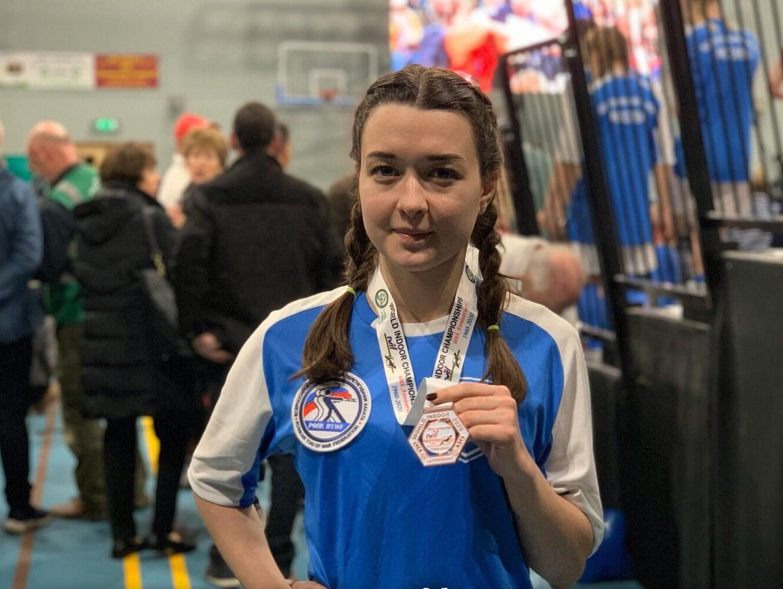 Уроженка Твери выиграла бронзу на Чемпионате мира