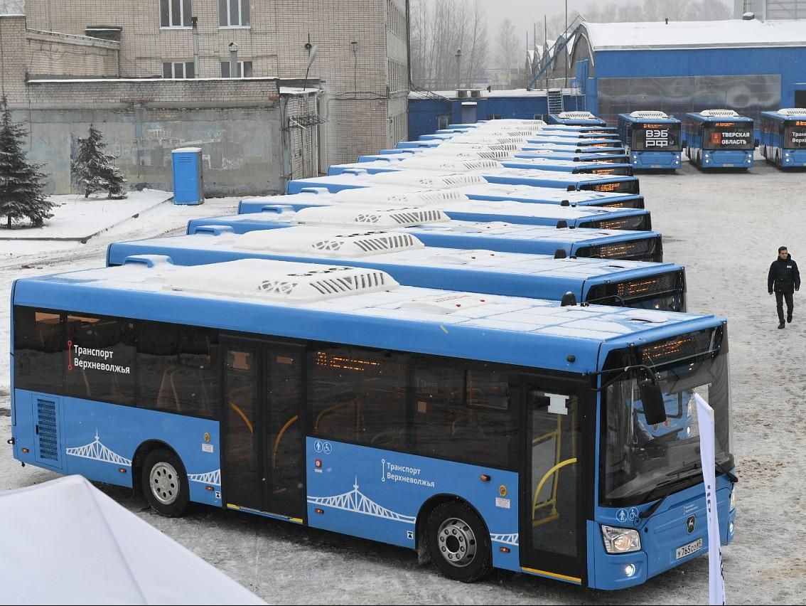 Появилось видео, как собирают новые автобусы для Твери