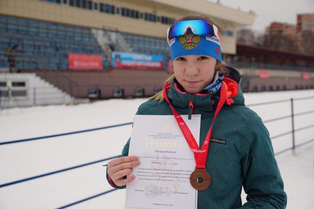 Лыжница из Западной Двины – в тройке лучших на соревнованиях в Подмосковье