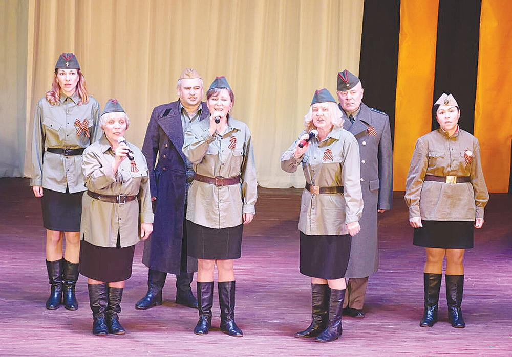 Артисты из Жарковского района удивили зрителей на «Салюте Победы»